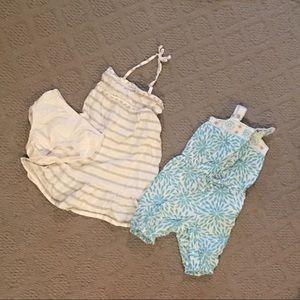 12-18M Baby Gap Dress/Romper Bundle